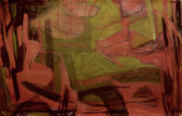 Leonard Nelson_Untitled_1954_oc_14x22_L