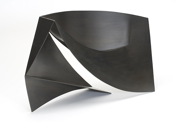 Nancy Steinson_Curved Counterpoint_2005_steel