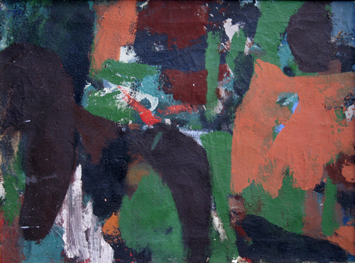 James Brooks, A, 1954, Oil on canvas