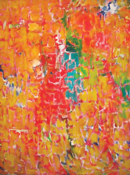 Seymour Boardman, May 15 1960, Untitled, Oil on canvas 72 x 54 in