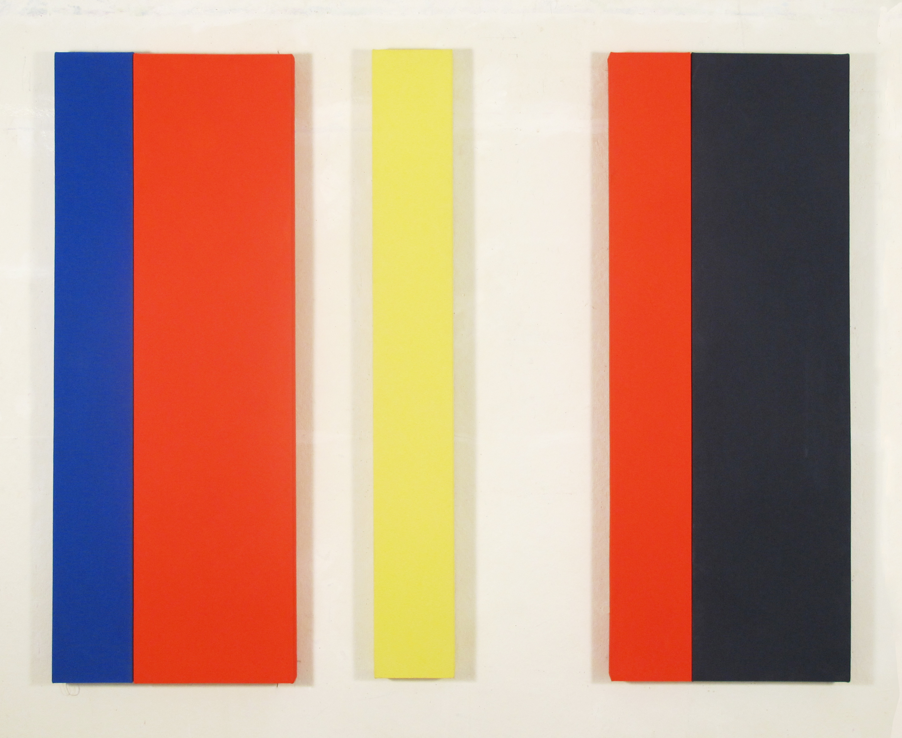 Shaw_Kendall_Tabasco, Acrylic on canvas, 5 panels, 48 x 60, 2013