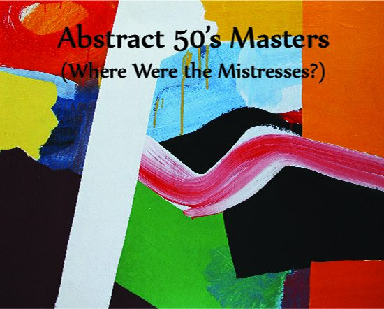 """Abstract 50's Masters"" $25"