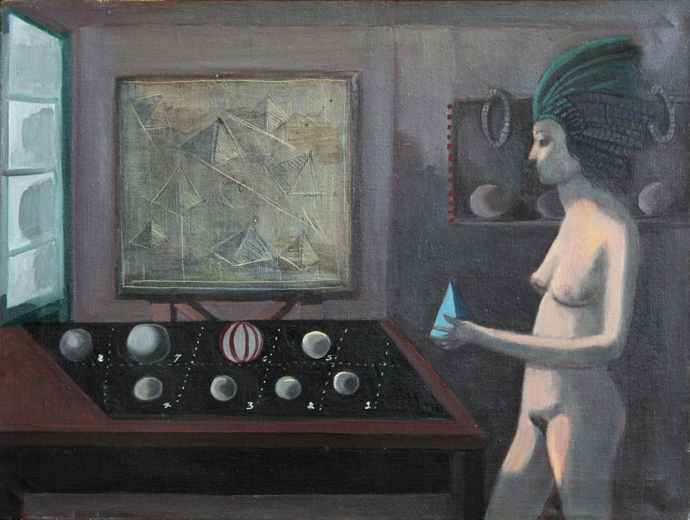 Burt Hasen, Untitled, Oil on Canvas, 18 x 24, ND