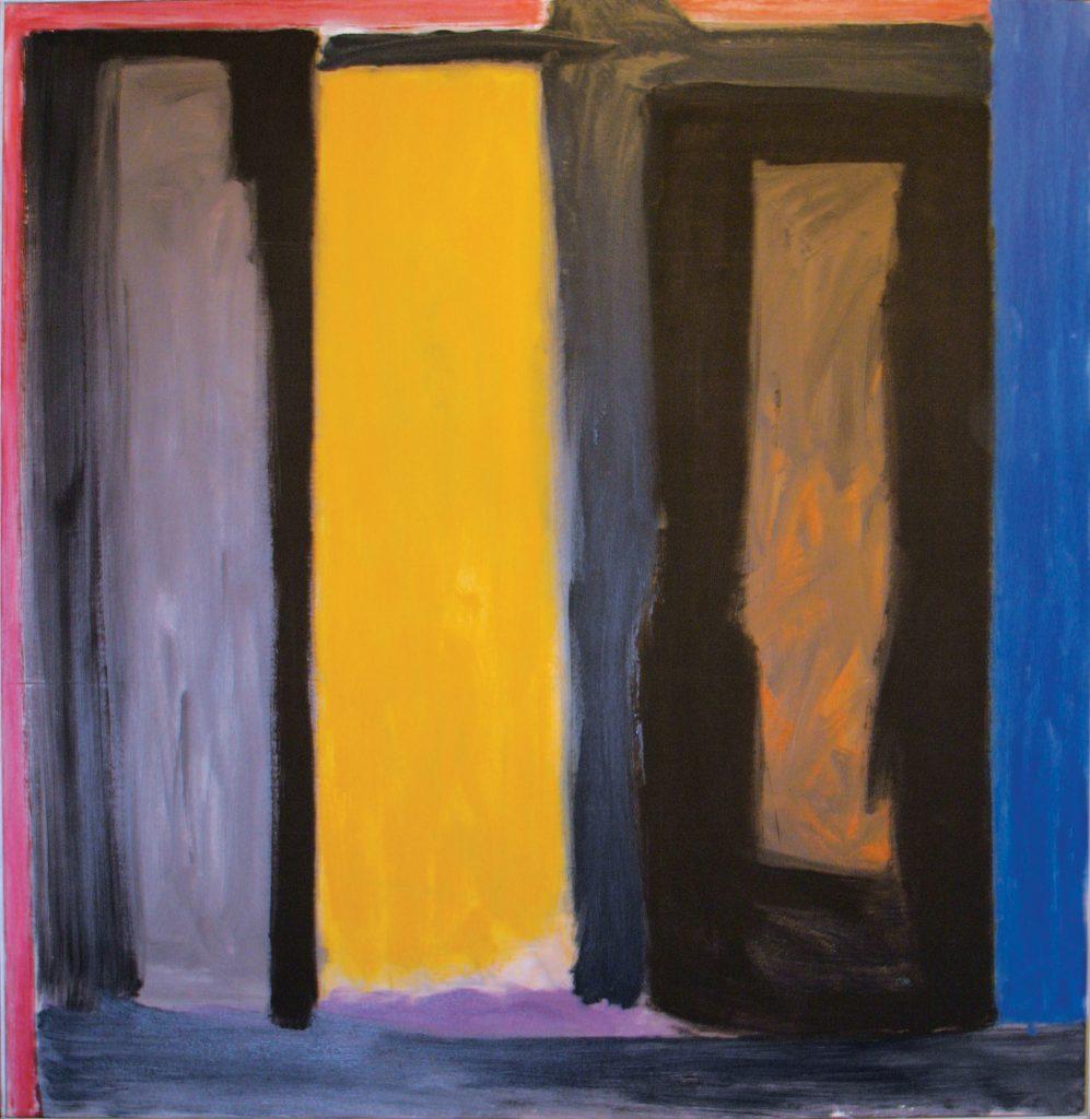 Ernest Briggs, Sketch for a Crucificion, 1981, oil on canvas, 69.5 x 67.5